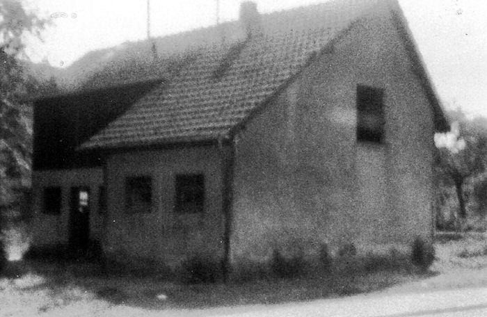 Foto des Bockstalls 1982